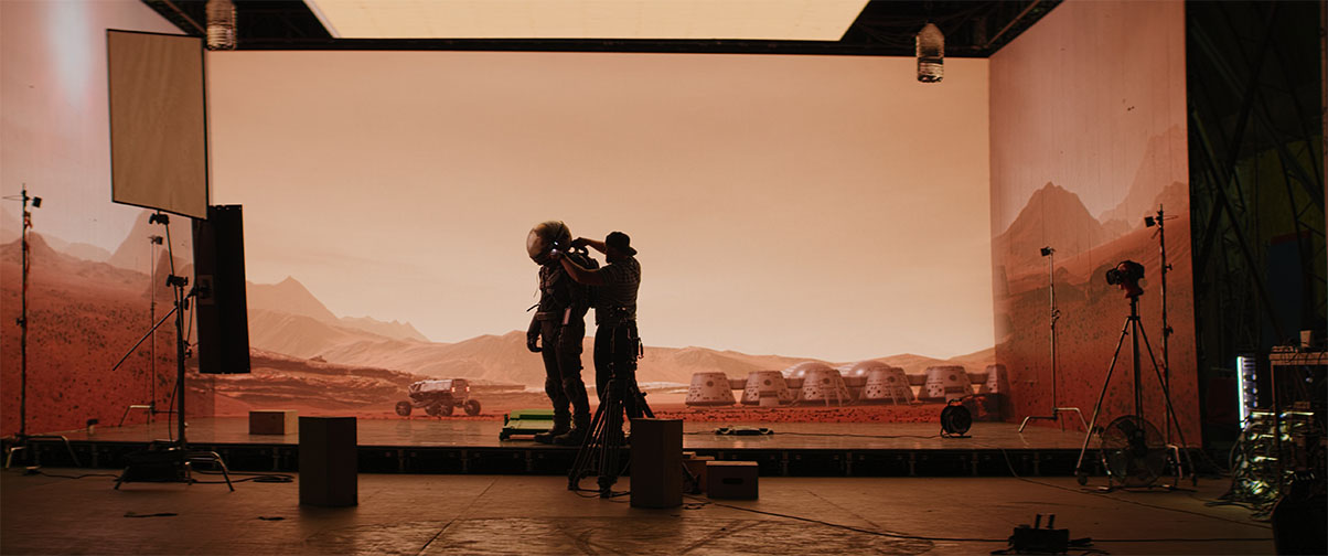 Virtual Production Unreal Engine LED Wall